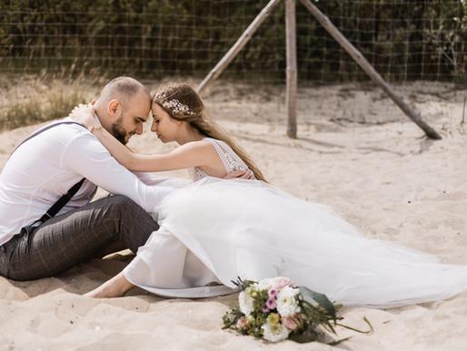 Sesja ślubna w stylu rustykalnym | Sesja plenerowa Gdańsk