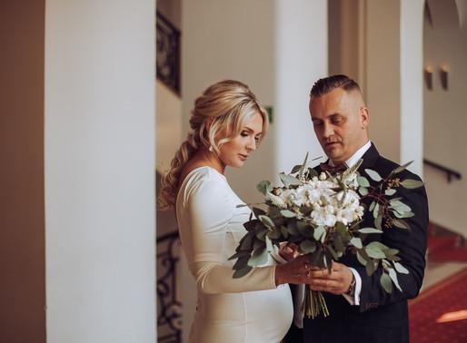 Ślub w Pałacu Ślubów w Warszawie