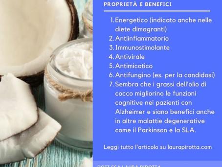 L'olio di cocco: proprietà e benefici per la salute psicofisica