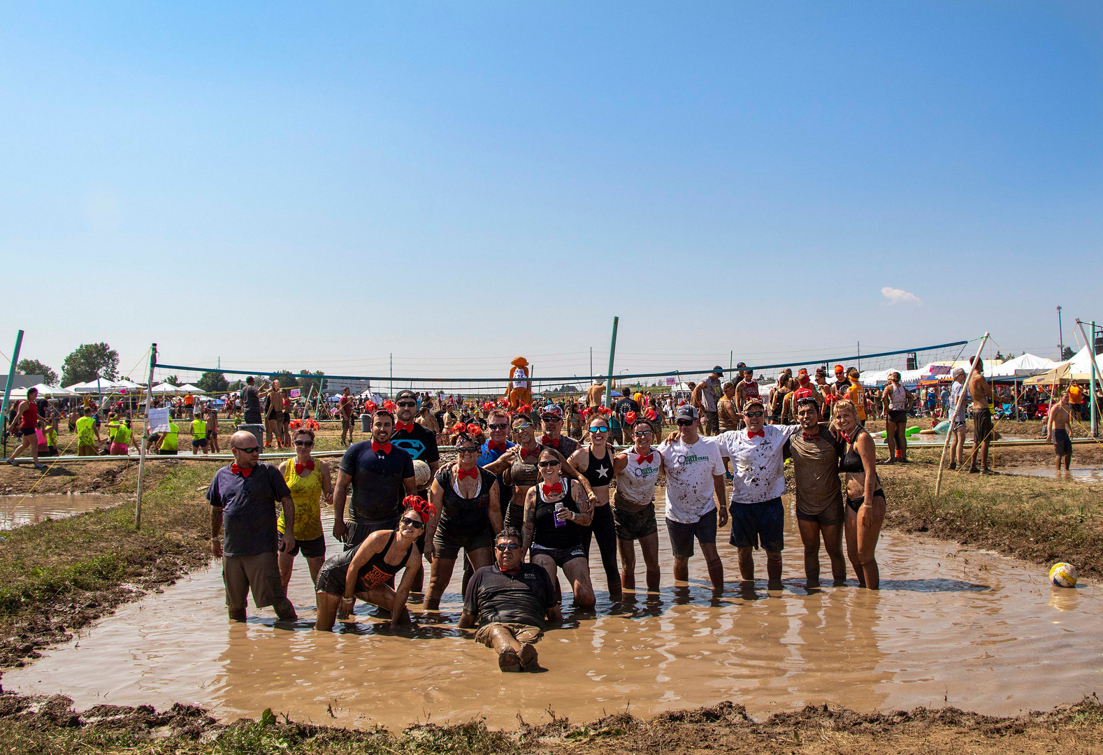 March of Dime MUDD Volleyball