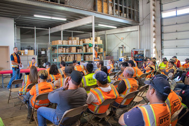 All Hands Safety Meeting