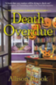 death overdue | allison brook