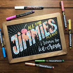 Jimmies Chalk Art