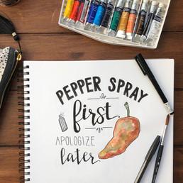 Pepper Spray First Calligraphy.JPG