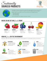 Sustainable Sourcing Infographic 8.5x11