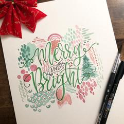 Merry & Bright Lettering.JPG