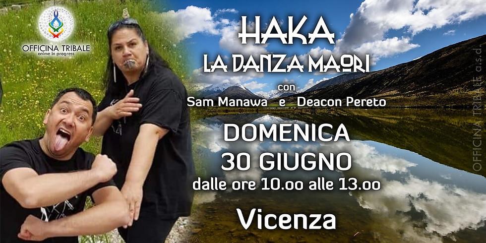 HAKA! La danza dei guerrieri Maori a Vicenza!