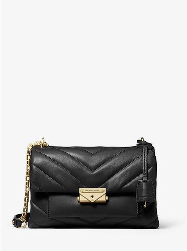 Cece MD Quilted Leather Crossbody/ Shoulder Bag