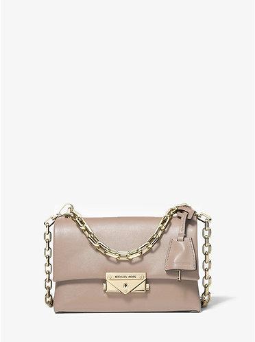 Cece XS Leather Crossbody Bag - Truffle