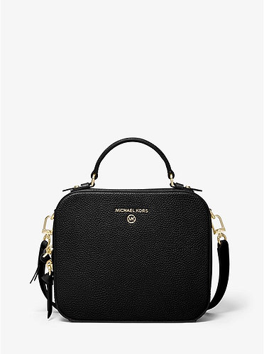 Jet Set Medium Crossbody - Black