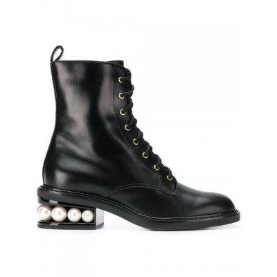 Nicholas Kirkwood - Casati Pearl Combat Boots