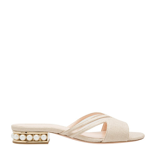 Nicholas Kirkwood - Casati Mule Sandal Raffia (More colors available)