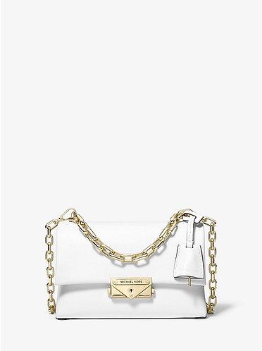 Cece XS Leather Crossbody Bag - Optic White