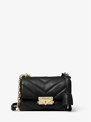 Cece XS Quilted Leather Crossbody gold buckle (more colours available)