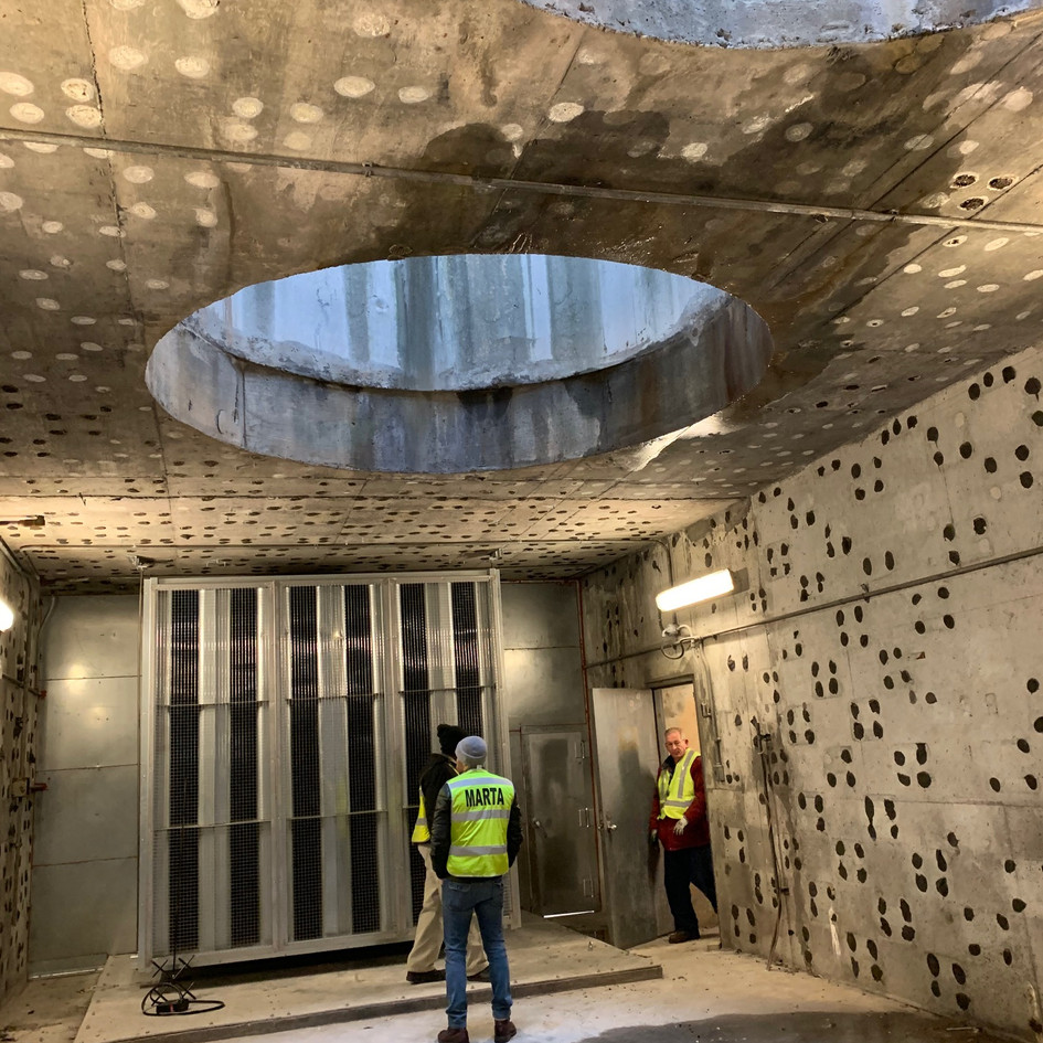 MARTA Tunnel Ventilation System Upgrades Howden Fan Atlanta, Georgia (RTAB) (PVT)