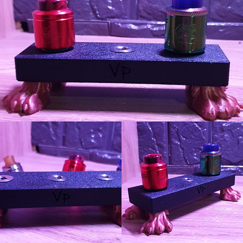 Big foot triple Atomiser Stand