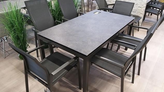 Outdoor Dining Sitzgruppe Stern Moebel K