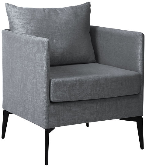 Stern  MARTA Sessel  Aluminium Bezug und Kissen