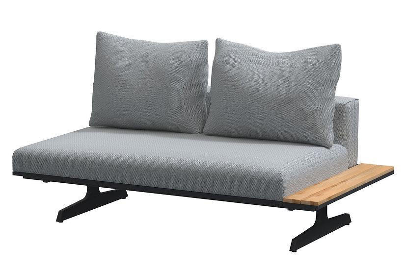 4 Seasons Outdoor  ENDLESS  Lounge-Modul mit Polster