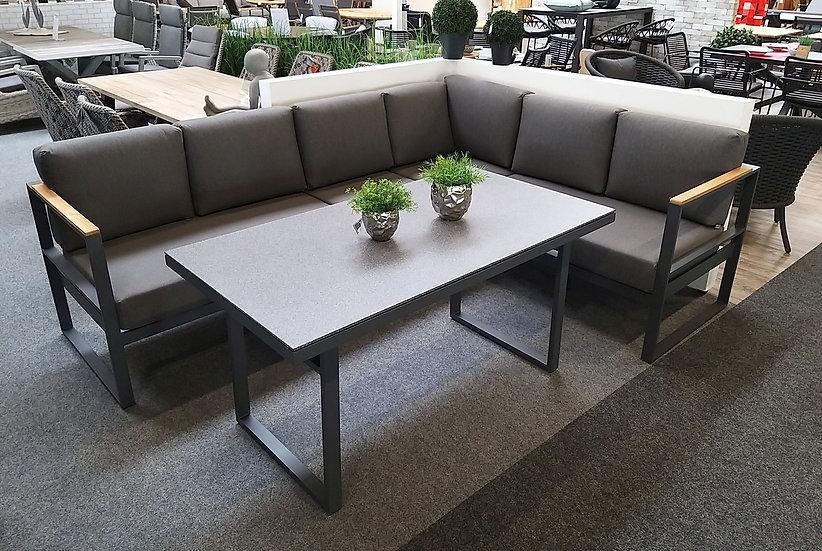 EATON  Casual Dining Lounge  mit Tisch 150x80cm