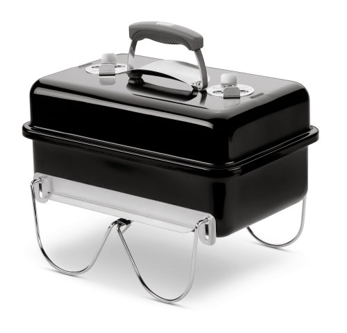 WEBER  Grill Go-Anywhere Holzkohle  Black