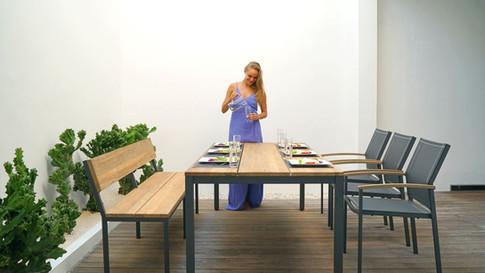 Zebra ALEX Dining Sitzgruppe