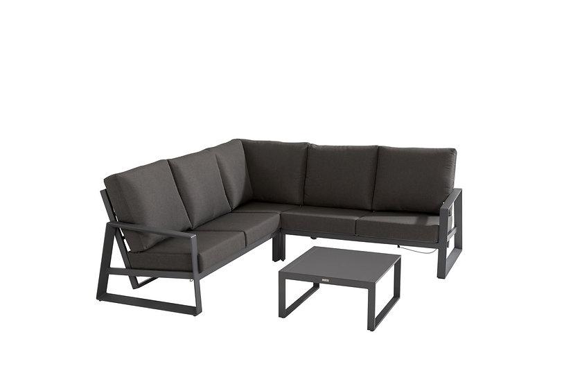 DAZZLING  Lounge  285x285cm  mit Kaffeetisch