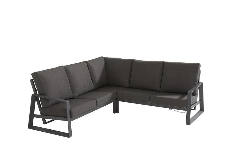 DAZZLING  Lounge  285x285cm  ohne Kaffeetisch