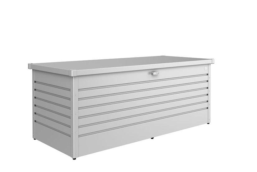 Biohort  Freizeitbox silber  180x78x70cm