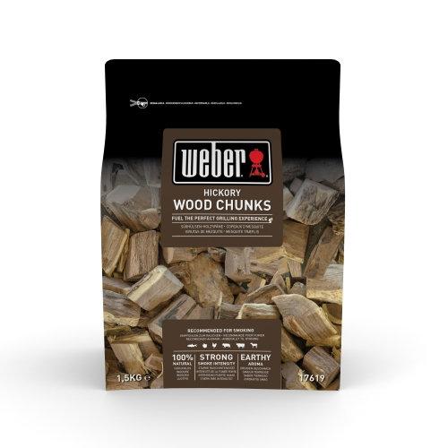 WEBER  Wood Chunks  Hickoryholz  1 5kg