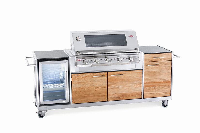Outdoorküche Pro HPL-Teak