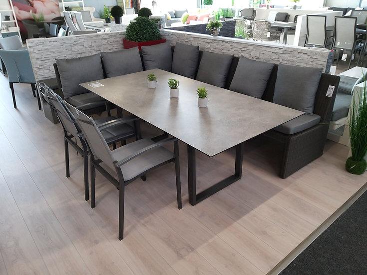 Stern NOEL  Casual-Dining-Sitzgruppe, basaltgrau