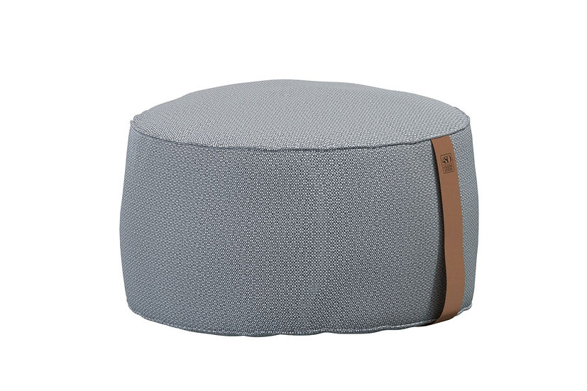 4 Seasons Outdoor  Outdoorstoff Pouf  D72  H38  mid grey