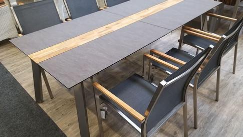 Zebra/Stern Dining Sitzgruppe Linax/Cardiff