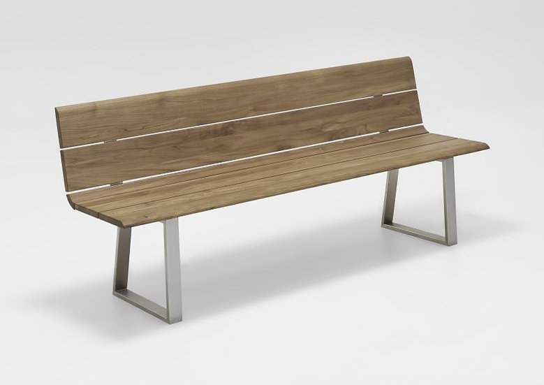 Niehoff  NOVA  Edelst.Recycle-Teak Bank 200cm