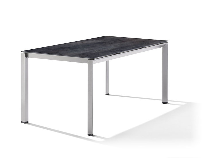 Sieger  Ti-Sy  Alu-POLYTEC  Tisch 160x90cm  graphit