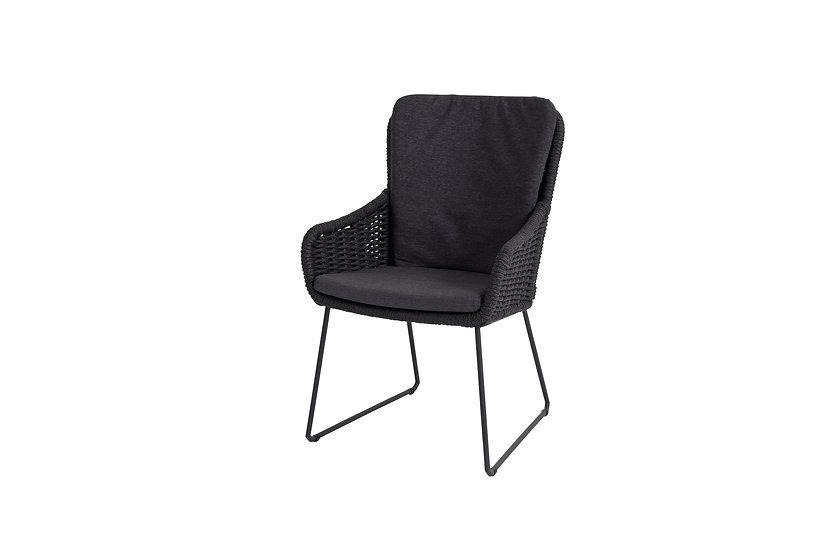 4seasonsoutdoor  WING  Dining Sessel  m.Sitz-Rückenkissen  anthrazit