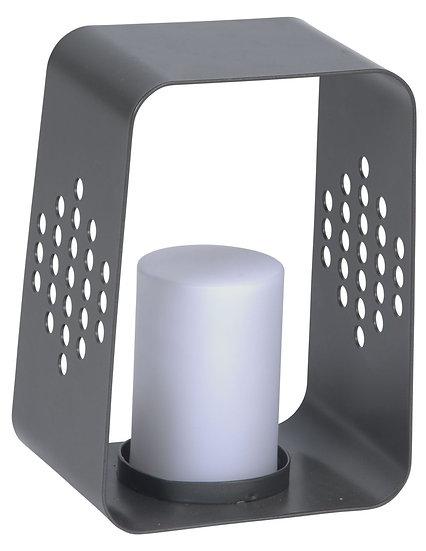 Stern  LED Leuchte 20x22x30cm Aluminium anthrazit