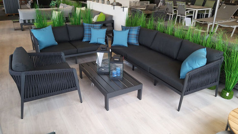 Outdoor Lounge Sitzgruppe Jati+Kebon Rit
