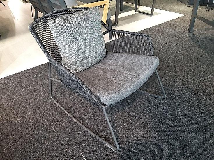 4 Seasons Outdoor  ACCOR  Rocking Chair  m.Sitz-Rückenkissen  anthrazit