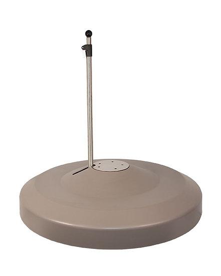 LIRO  Schirmständer fahrbar 150kg  M4  SOMBRANO graphit