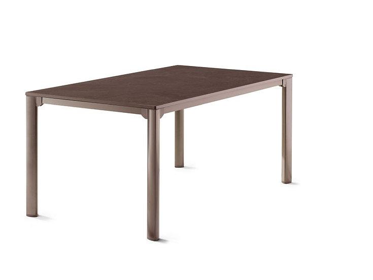 Sieger  VIVODUR Tisch 165x95cm  eisengrau