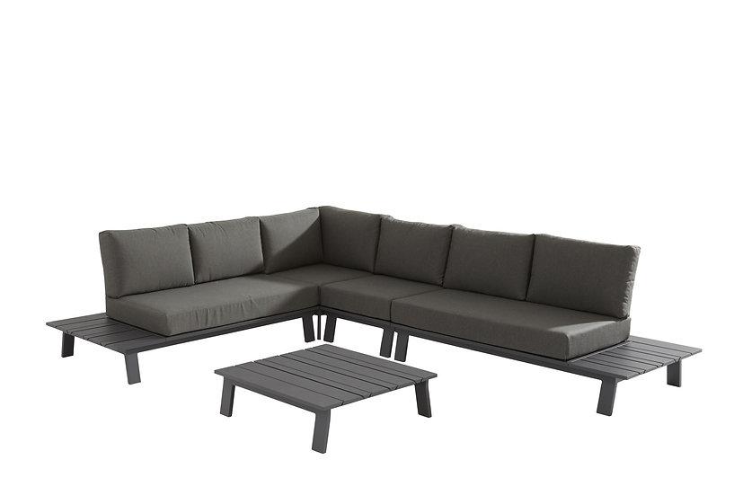 DENVER  Platform Lounge mit Kaffeetisch  315x250cm