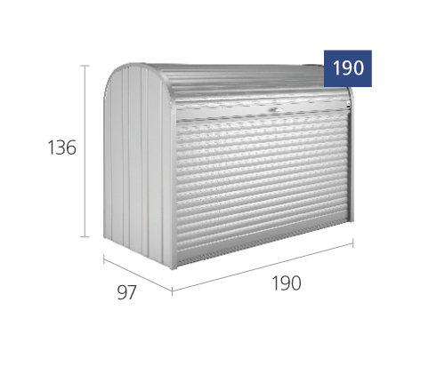 Biohort  Storemax 190  silber