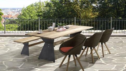 Niehoff Outdoor Dining NOAH/NERO