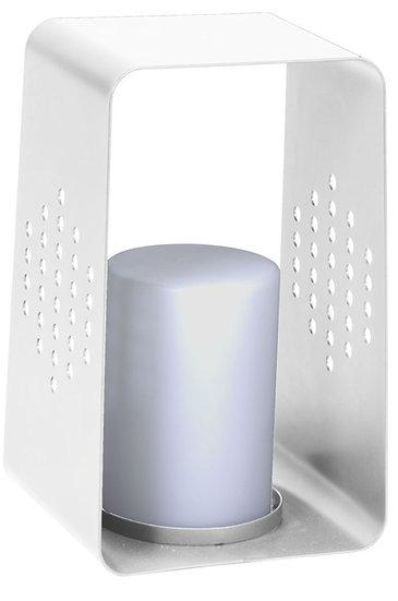 Stern  LED Leuchte 26x28x45cm Aluminium weiß