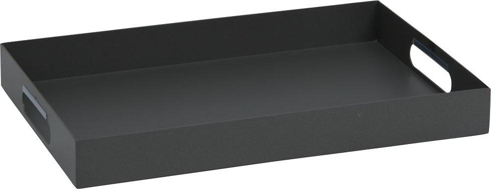Stern  Alu Tablett ca. 60x40x7cm  anthrazit