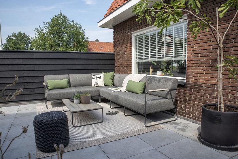 4 Seasons Outdoor  COAST  Lounge  300x230cm mit Polster  anthrazit
