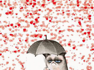 It's not raining on you. (It's just raining).