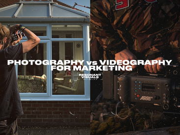 Photography & Videography Compared for Marketing